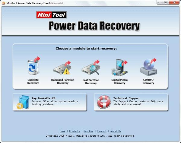 Windows 7 hard disk recovery tool helps Windows 7 users to