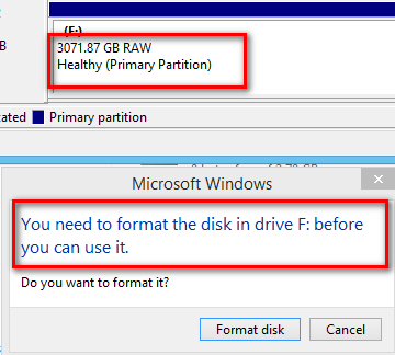 is it possible to recover data from a formatted external hard drive