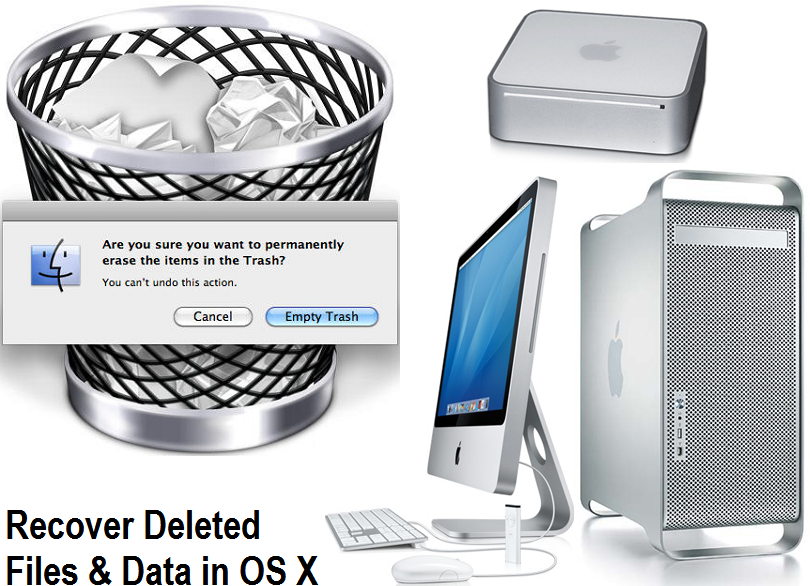Recover Deleted Files From Emptied Mac Trash You Can Do It